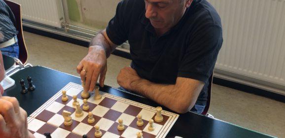 Dani Barouta vant klubbmesterskapet i lynsjakk