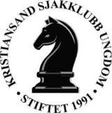 Logo for Kristiansand Sjakklubb Ungdom